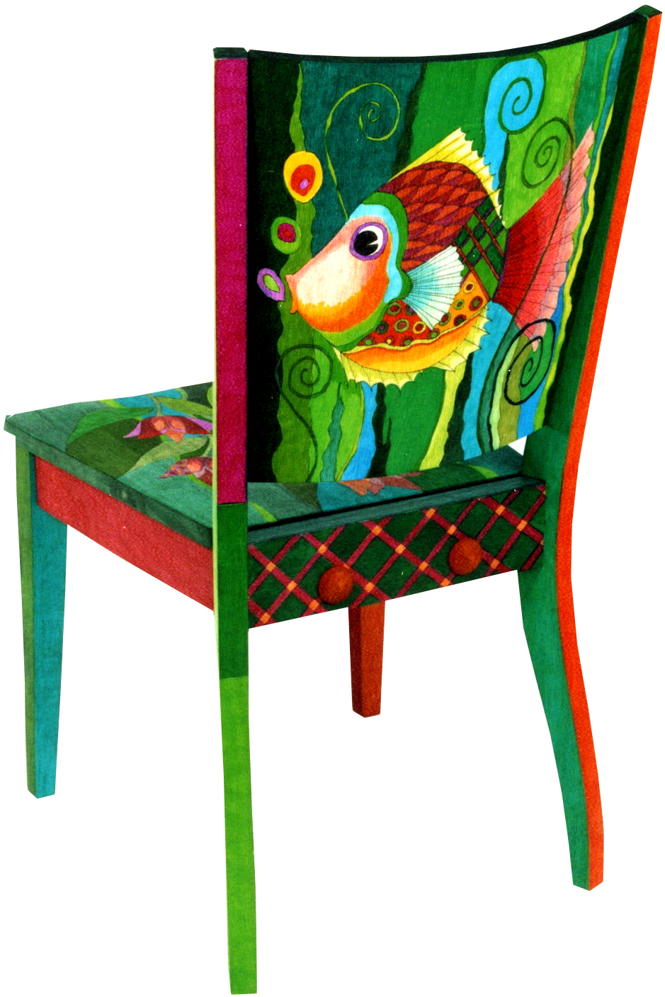 Furniture painting ideas techniques - Painted Fish On Pinterest Painted Fish Seahorses And